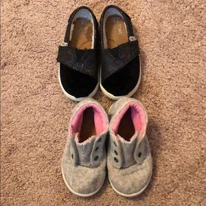 Lot of 2 Toms Toddler shoes